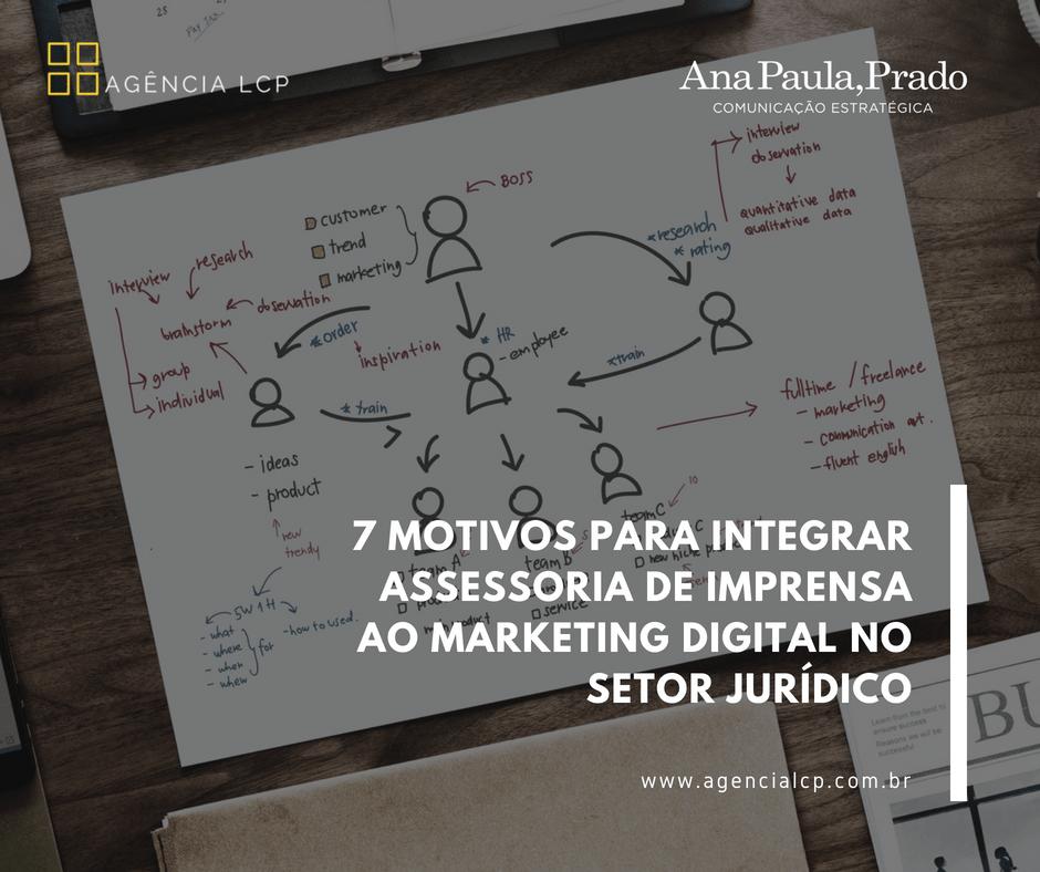 7 motivos para integrar assessoria de imprensa ao marketing digital no setor jurídico
