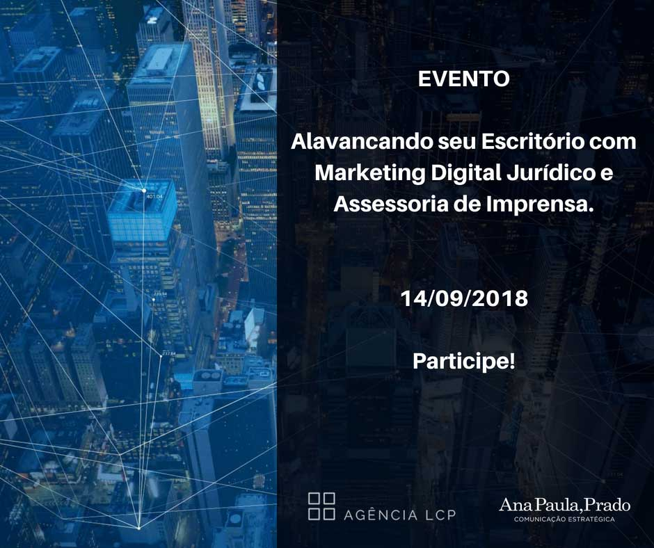 Alavancando seu Escritório com Marketing Digital Jurídico e Assessoria de Imprensa.